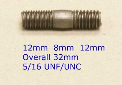 Metric Imperial Exhaust Manifold Studs / Bolts - UNC UNF M8 M10