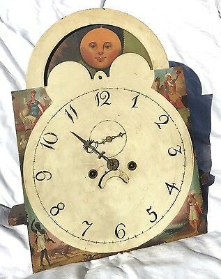 8 Day Grandfather Long Case Clock Movement rolling  moon by  T.g.Wilkes Bilstone