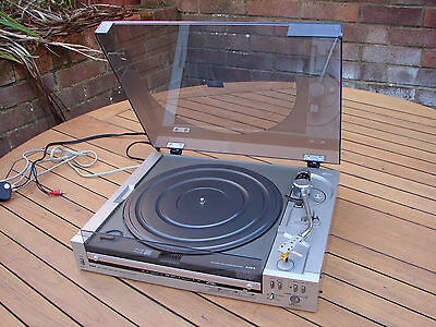 Aiwa D50 Turntable Direct Drive Automatic Front Loading Japan TLC Global Ship
