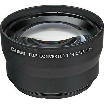 Canon TC-DC58E 1.4x Tele-Converter for PowerShot G15 Digital Camera 6926B001
