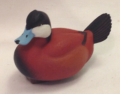 Ducks Unlimited Jett Brunet Miniature Decoy Ruddy Duck 15Th In Series  2013