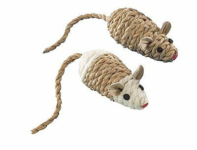 Nobby Sisal Mouse With Rattle 2 x 8 cm