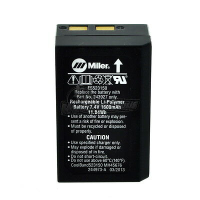 Miller 243927 Replacement Battery for Coolband