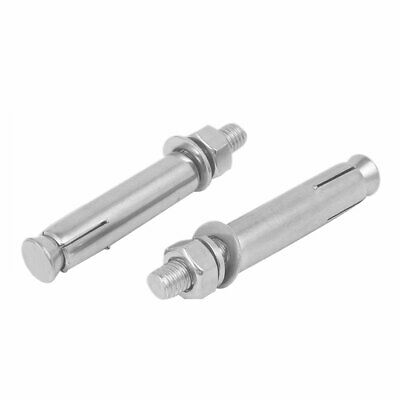 uxcell 12mm Dia 120mm Length Stainless Steel Pin-Fier Hex Nut Expansion Drive Anchor