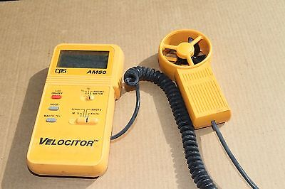 CPS AM50 Velocitor Air Velocity & Temperature Meter. Airconditioning.