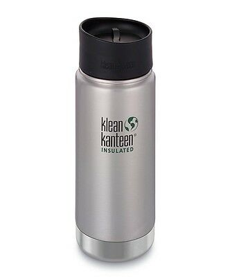 KLEAN KANTEEN K16VWPCC-BS 473ml Vacuum Insulated Flask (Brushed Stainless)