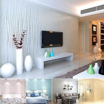 10M 3D Background Wallpapers Non-woven Mural Wall Paper Room Home Decor Rolls