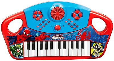 Spiderman Electronic Keyboard Musical Piano Kids Toy Instrument Record Playback