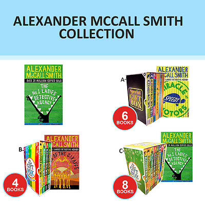 Alexander McCall Smith Collection Set Tears Of The Giraffe Gift Wrapped New Set