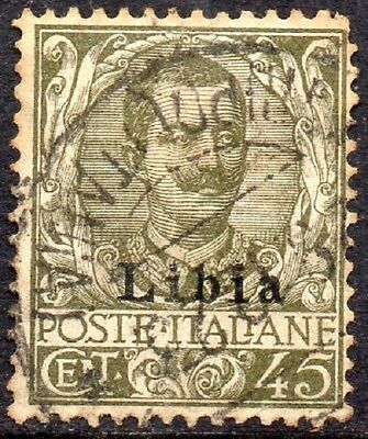 Libya: 1912 Italy ovpt. 45c. SG 11 used