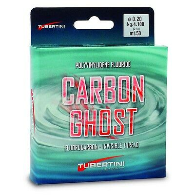 Tubertini Lines Carbon Ghost 50 Fluorocarbono