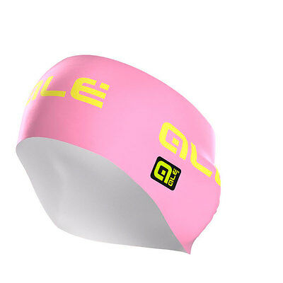 Ale Printed Earband One Size Pink Yellow Fluo Bandeaux
