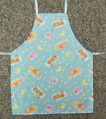 New cute child child's toddler apron Winnie the Pooh Tigger Piglet Eeyore