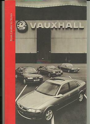 Vauxhall 'cavalier  To  Vectra' Car History 'sales Brochure' Book 1995