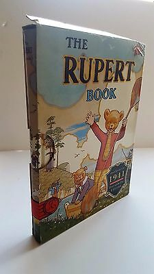 THE RUPERT BOOK 1941 Facsimile in slip case   Nice!
