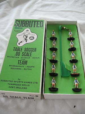 Old vintage and boxed Subbuteo Football team No ??  BSC Hertha or Brighton
