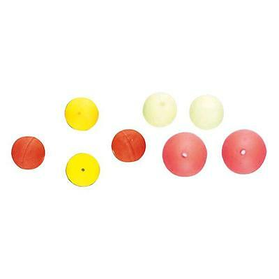 Kali Fluorescent Drilled Perlas y stoppers