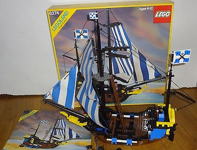 Lego Pirate Ship 1989 Instructions