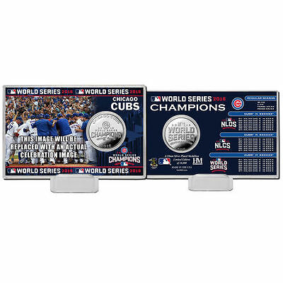 Highland Mint Chicago Cubs Collectible Coins - MLB
