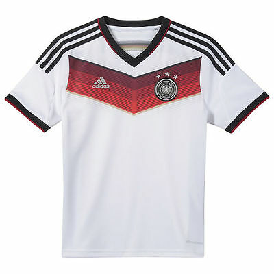 Germany adidas Youth 2014 Replica Home Soccer Jersey - White