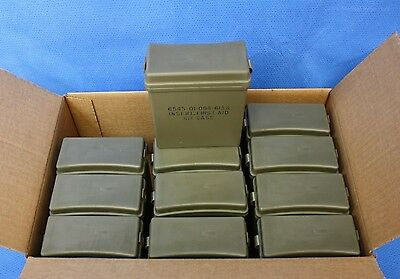Rigid Insert w/ Lid 12 each for IFAK First Aid Kits Military NOS No Contents