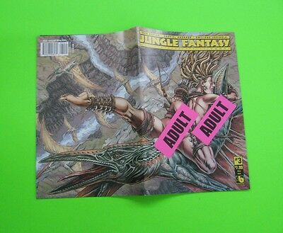 JUNGLE FANTASY IVORY # 3 Comic WRAPAROUND ADULT COVER 2016 BOUNDLESS SEXY