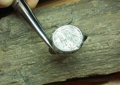 RARE !!! Old Antique Medieval Silver  Ring   #2089