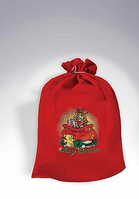 Santa Claus Toy Bag Christmas Toy Shop Red Bag