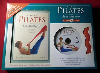 Simply Pilates With Stretchband Book & Dvd Box Set by Jennifer Pohlman