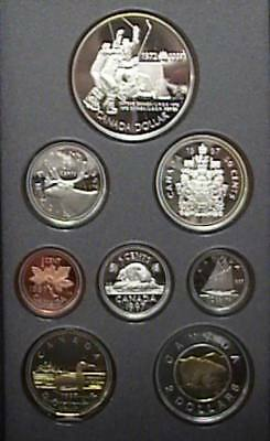 1997 Canada Proof Double Dollar Set With Twoonie