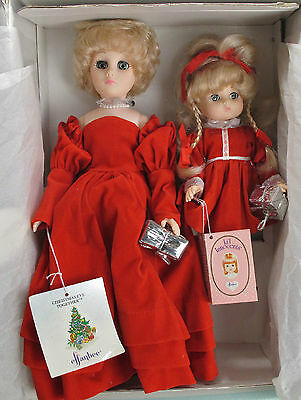 Retro Vintage 1988 Effanbee Mom & Patsy Ann Dolls in Box Christmas Eve Together