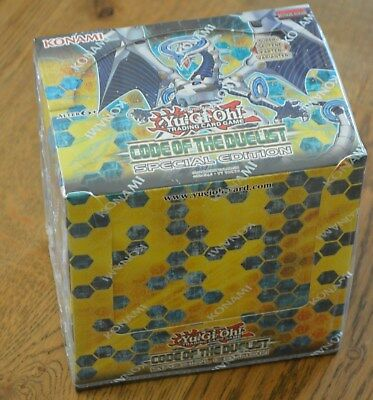 Yu-Gi-Oh! Code of the Duelist Special Edition 10 Pack Display Deutsch Neu & OVP