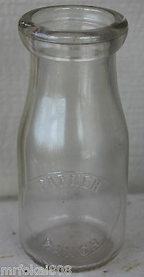 Parker Ranch No Dairy Variation Big Island Hawaii Half Pint Milk Bottle Hawaiian