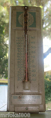 Vintage Kona Hongwanji Mission Thermometer Guage Big Island Hawaii
