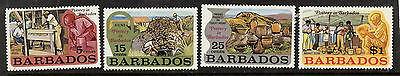 Barbados 380-3 MNH Pottery Industry
