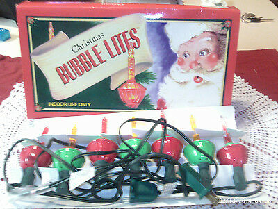 Midwest Cannon Set Of & Christmas Bubble Lites Indoor Use Set 7