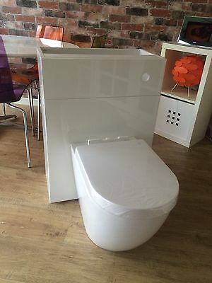 New Modern Back To Wall Toilet And Unit