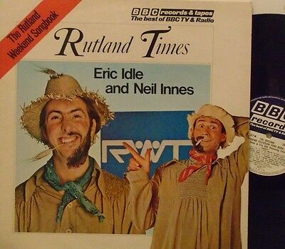ERIC IDLE & NEIL INNES - Rutland Weekend Television Song Book - VINYL LP