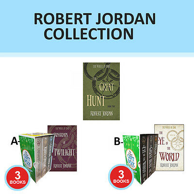 Robert Jordan Wheel of Time Collection The Great Hunt Set Gift Wrapped Set New