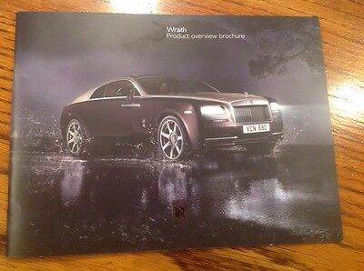 "Wraith Product Overview Brochure ""Rare Pamphlet In The USA"""