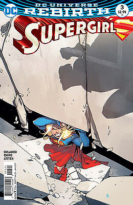 SUPERGIRL #3, VARIANT, New, First print, DC REBIRTH (2016)