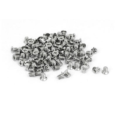 Computer PC Case 3.5-inch HDD Flat Phillips Head Hard Drive Screw 6#-32 100pcs