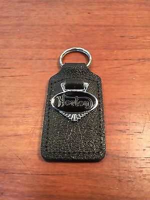 Old Biker's Vintage 1960's Norton Motorcycle Collectible Advertising Keychain