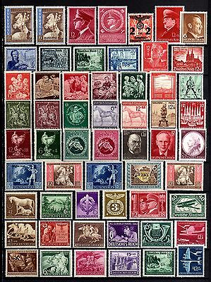 73-GERMANY-LOT of UNUSED MH.Stamp.Hight value.LOTE SELLOS NUEVOS DEUTSCHES REICH