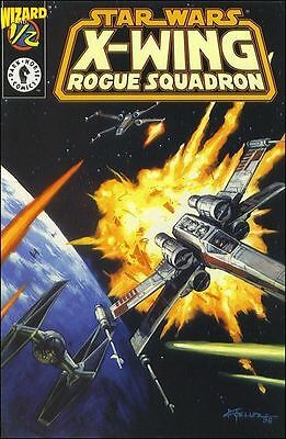 Star wars X - Wing Rogue Squadron # 1/2 COA Wizard World send away comic N mint