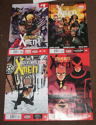 Wolverine and the X-men   nos 1 - 4 - Marvel comics
