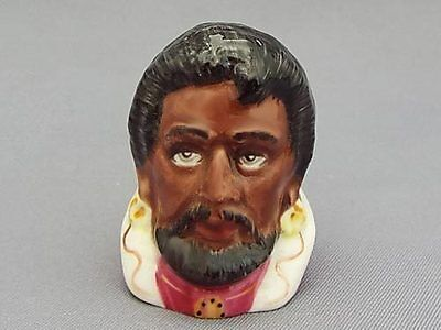 Francesca Character Head Thimble - Othello, Literary Collection