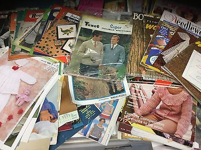 Job Lot of Knitting and Craft Patterns