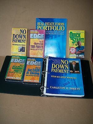 Carleton H. Sheets NO Money Down Course VHS Tapes Successful Investing
