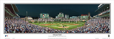 Baseball 2015 Chicago Cubs Wrigley Field Stadium Panoramic Poster #2105